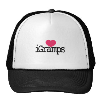 I Love Gramps Cap