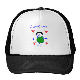 I Love Gramps Trucker Hat