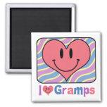 I Love Gramps Refrigerator Magnet
