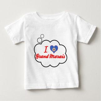 I Love Grand Marais, Minnesota Tee Shirts
