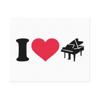 I love grand piano gallery wrap canvas