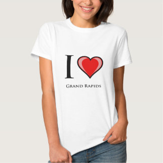 I Love Grand Rapids T Shirts