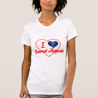 I Love Grand Rapids, Wisconsin Tee Shirts