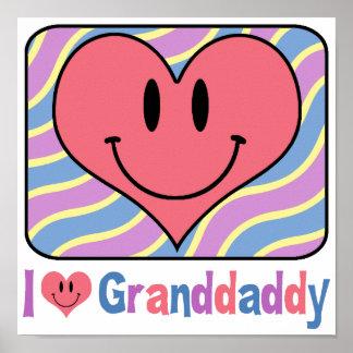 I Love Granddaddy Print
