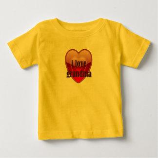 I Love Grandma Baby T-Shirt