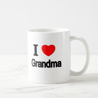 I Love Grandma Coffee Mug