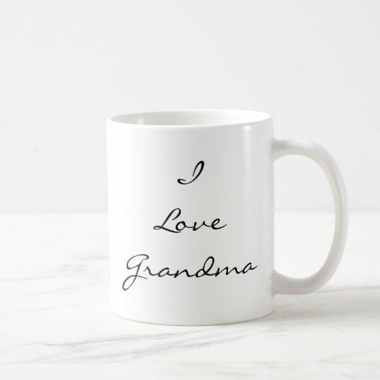 I Love Grandma Customisable Photo Mug