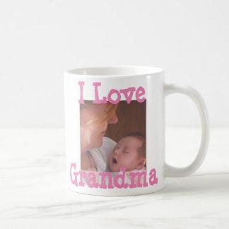 I Love Grandma Personalised Coffee Mug