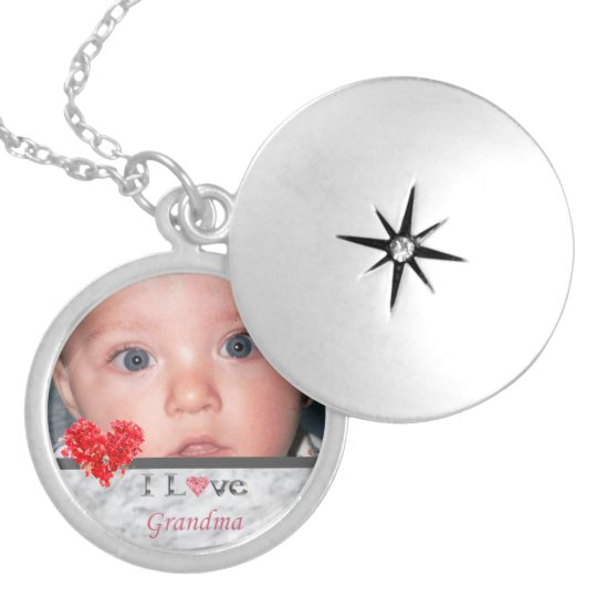 I Love Grandma Photo Locket