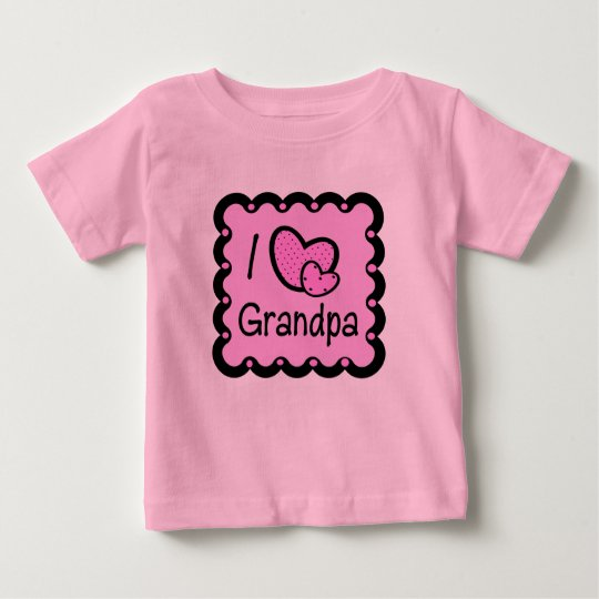 I Love Grandpa Cute T-Shirt