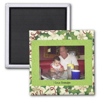 I Love Grandpa Magnet