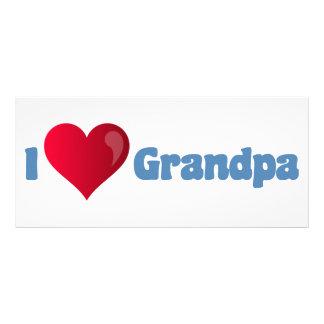 I Love Grandpa Full Color Rack Card