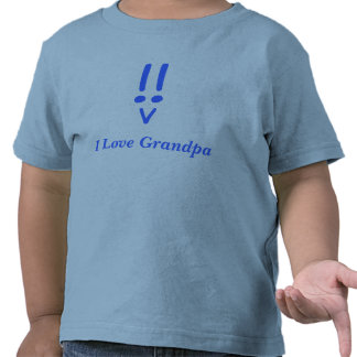 I Love Grandpa Tee Shirts