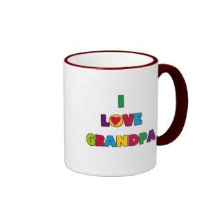 I Love Grandpa Tshirts and Gifts Mugs