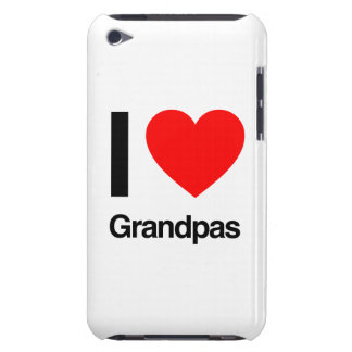 i love grandpas barely there iPod cases