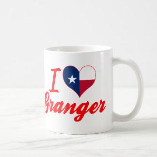 I Love Granger, Texas Basic White Mug