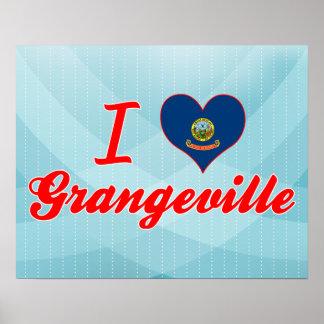 I Love Grangeville Idaho Posters