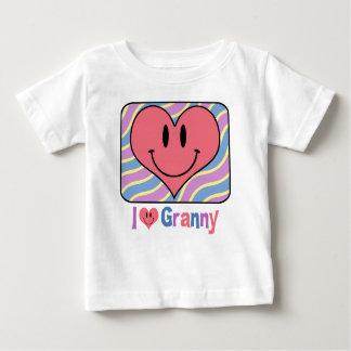 I Love Granny Baby T-Shirt