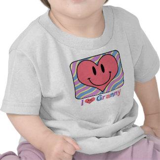 I Love Granny T Shirts
