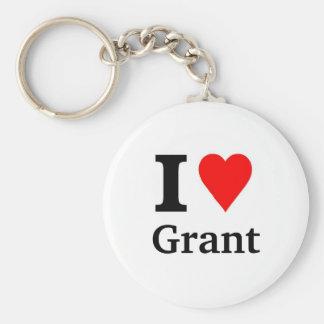 I love Grant Key Chain