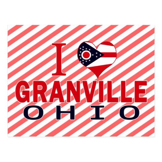 I love Granville, Ohio Postcard