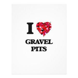 I Love Gravel Pits 21.5 Cm X 28 Cm Flyer