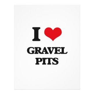 I love Gravel Pits Flyer Design