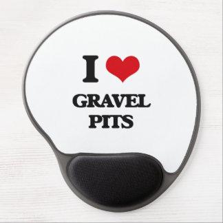 I love Gravel Pits Gel Mousepad