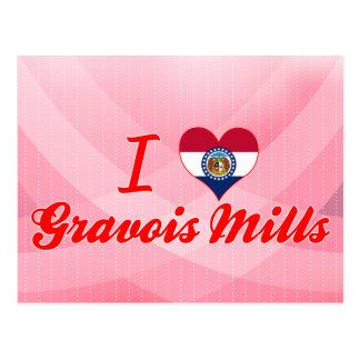I Love Gravois Mills, Missouri Postcard