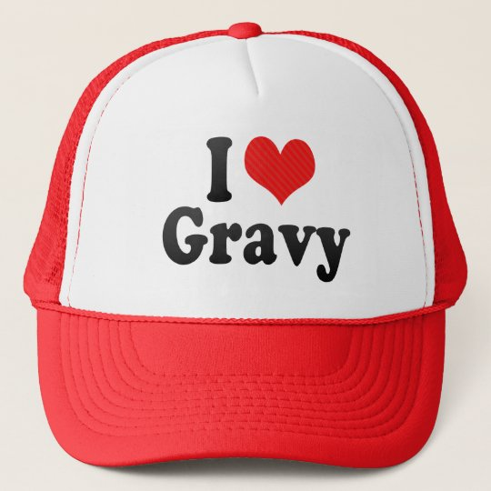 I Love Gravy Trucker Hat