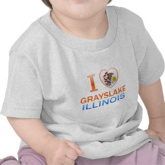 I Love Grayslake IL Tee Shirt