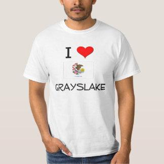 I Love GRAYSLAKE Illinois Tee Shirts