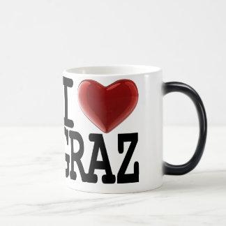 I Love GRAZ Morphing Mug