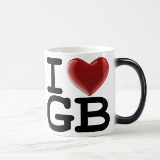 I Love GREAT BRITAIN Morphing Mug