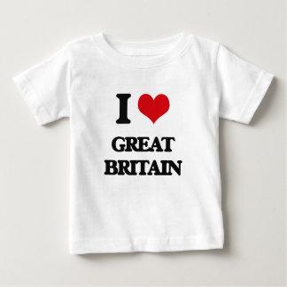 I love Great Britain T Shirt