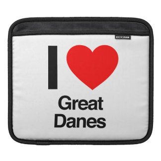 i love great danes sleeves for iPads