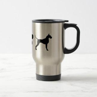 I LOVE Great Danes! Stainless Steel Travel Mug