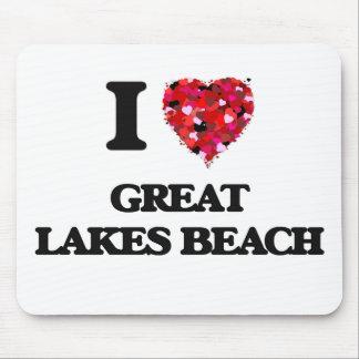I love Great Lakes Beach Michigan Mouse Pad