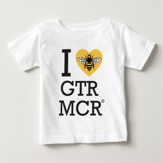I love Greater Manchester Baby T-Shirt