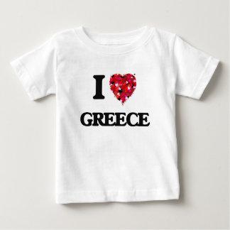 I Love Greece Baby T-Shirt