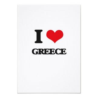 I love Greece Cards