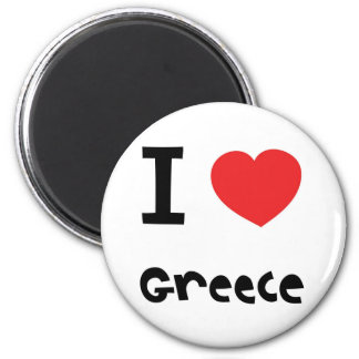 I love greece magnet