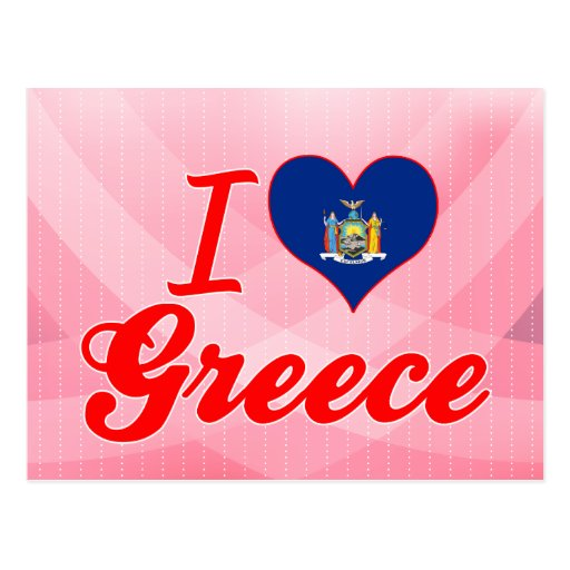 I Love Greece, New York Post Cards