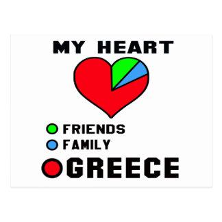 I love Greece. Postcard