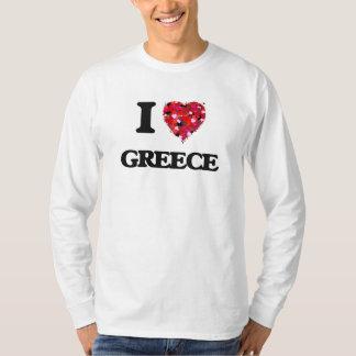I Love Greece T-Shirt