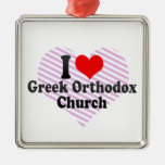 I love Greek Orthodox Church Christmas Ornaments
