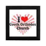 I love Greek Orthodox Church Keepsake Boxes