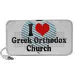 I love Greek Orthodox Church Mp3 Speakers