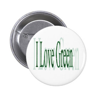 I Love Green Button