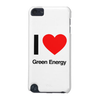 i love green energy iPod touch (5th generation) cover